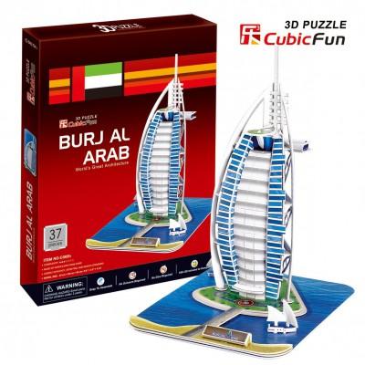 Cubic-Fun-C065H-2 Puzzle 3D - Burjal-Arab (Schwierigkeit: 4/8)