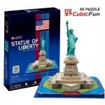 Cubic-Fun-C080H 3D Puzzle - New York: Freiheitsstatue