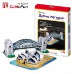 Cubic-Fun-C090H Puzzle 3D - Sydney: Brücke und Oper