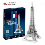 Cubic-Fun-C705H Puzzle 3D - Eiffelturm