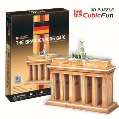 Cubic-Fun-C712H Puzzle 3D - Brandenburger Tor, Berlin, Deutschland