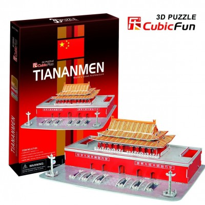 Cubic-Fun-C713H Puzzle 3D - Tiananmen China