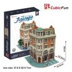 Cubic-Fun-HO4102h 3D Puzzle - Jigscape Collection - Corner Savings Bank (Schwierigkeit: 5/6)