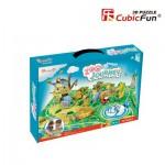 Cubic-Fun-K1001H 3D Puzzle - Zoo - Schwierigkeit: 3/8