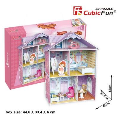 Cubic-Fun-K1201h 3D Puzzle - Pianist's Home (Schwierigkeit: 4/6)