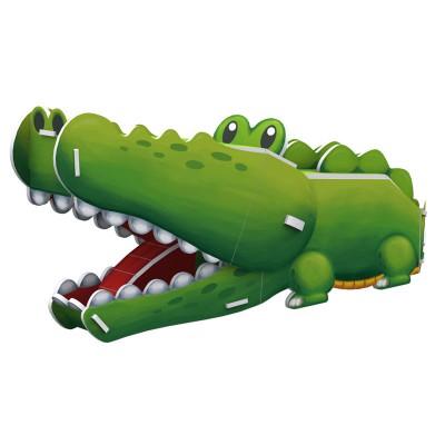Cubic-Fun-K1502H 3D Puzzle - Crocodile - Schwierigkeit: 3/8