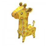 Cubic-Fun-K1503H 3D Puzzle - Giraffe - Schwierigkeit: 3/8