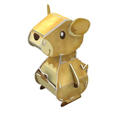 Cubic-Fun-K1504H 3D Puzzle - Kangaroo - Schwierigkeit: 3/8