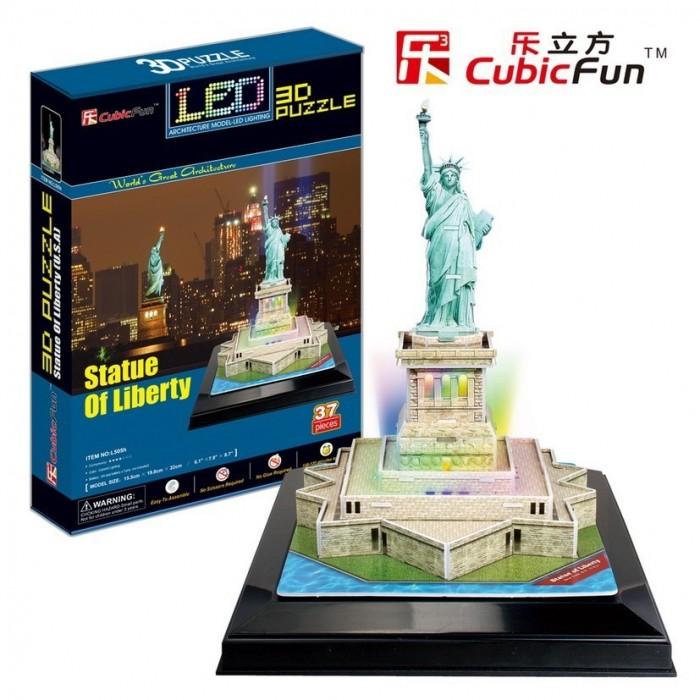 Puzzle 3D mit LED - Freiheitsstatue