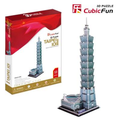 Cubic-Fun-MC085H Puzzle 3D - Taipeh Taiwan