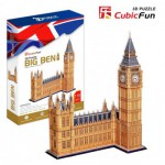 Cubic-Fun-MC087H Puzzle 3D - Big Ben, London