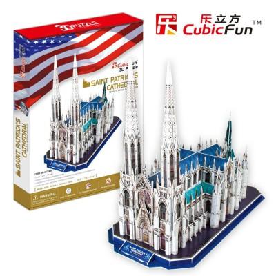 Cubic-Fun-MC103H Puzzle 3D - Saint Patrick Kathedrale