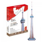 Cubic-Fun-MC109H Puzzle 3D - CN Tower, Canada
