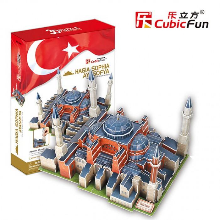 Puzzle 3D - Hagia Sophia, Istanbul