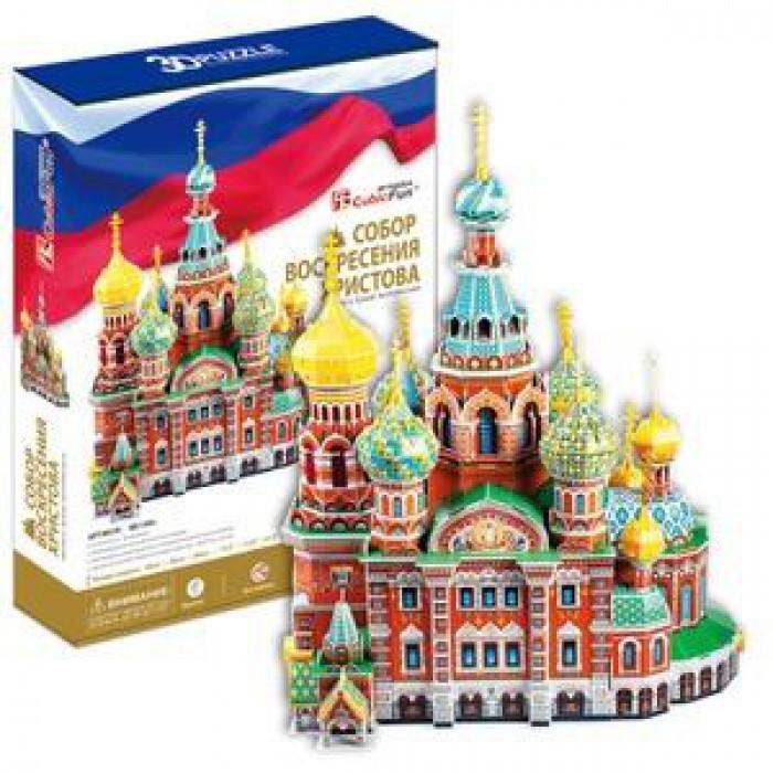 Puzzle 3D - Retter Auf Blut-Kathedrale, Sankt Petersburg