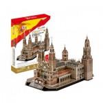 Cubic-Fun-MC184H 3D Puzzle - Kathedrale von Santiago de Compostela - Schwierigkeitsgrad: 5/8