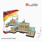 Cubic-Fun-MC207h 3D Puzzle - Puzzle 3D - Brandenburger Tor (Difficulté: 5/8)