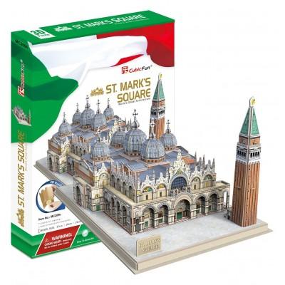 Cubic-Fun-MC209h 3D Puzzle - Markusdom Markusplatz, Venedig (Schwierigkeit: 5/8)