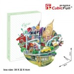 Cubic-Fun-OC3203h 3D Puzzle - Cityscape Collection - New York (Schwierigkeit: 4/6)