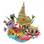 Cubic-Fun-OC3204 3D Puzzle CityScape - Paris - Schwierigkeit: 4/8