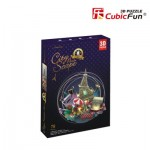 Cubic-Fun-OC3214L 3D Puzzle mit LED - Cityscape Collection - Paris (Schwierigkeit: 4/6)