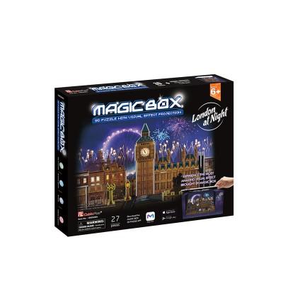 Cubic-Fun-OM3606h 3D Puzzle - Magic Box - London (Schwierigkeit: 4/6)