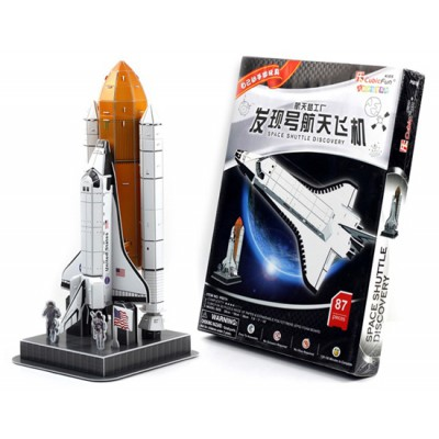 Cubic-Fun-P601H Puzzle 3D - Spaceshuttle Discovery