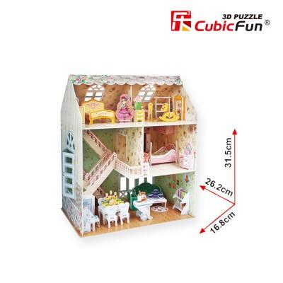 Cubic-Fun-P645H 3D Puzzle - Dreamy Dollhouse - Schwierigkeit: 4/8