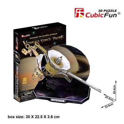 Cubic-Fun-P654H 3D Puzzle - Voyager Space Probe