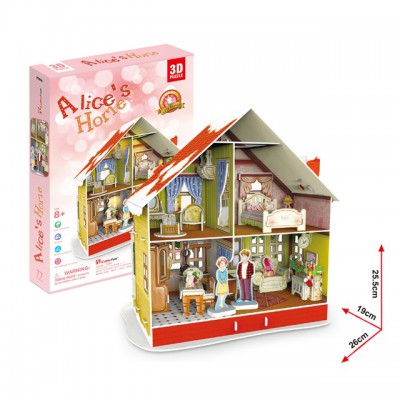 Cubic-Fun-P666H Puzzle mit LED - Alice's Home