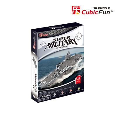 Cubic-Fun-P677h 3D Puzzle - USS Enterprise (Schwierigkeit: 4/6)
