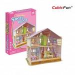 Cubic-Fun-P678h 3D Puzzle - Sara's Home (Schwierigkeit: 4/6)