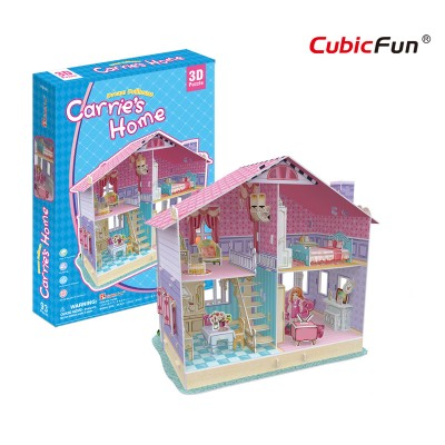 Cubic-Fun-P679h 3D Puzzle - Carrie's Home (Schwierigkeit: 4/6)