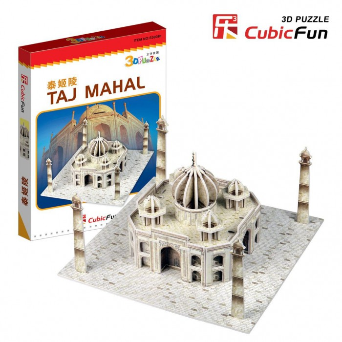 Puzzle 3D Mini - Taj Mahal, Indien