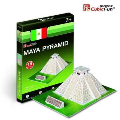 Cubic-Fun-S3011H Mini 3D Puzzle - Maya-Tempel