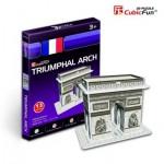 Cubic-Fun-S3014H Puzzle 3D Mini - Triumpfbogen, Paris