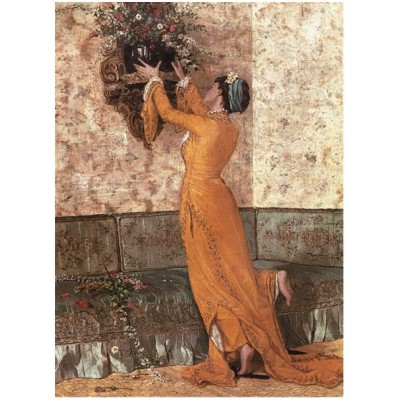 Puzzle Perre-Anatolian-18020 Osman Hamdi Bey: Mädchen mit Vase