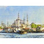 Puzzle  Perre-Anatolian-3166 Türkei - John Frederick Lewis: Yeni Djami Moschee und Hagia Sophia