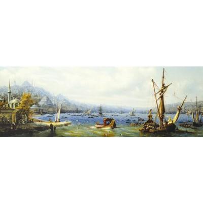 Puzzle Perre-Anatolian-3169 Türkei: Boote auf dem Bosporus