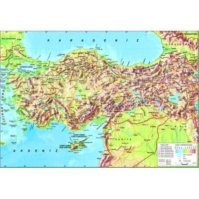 Puzzle Perre-Anatolian-3268 Karte der Türkei