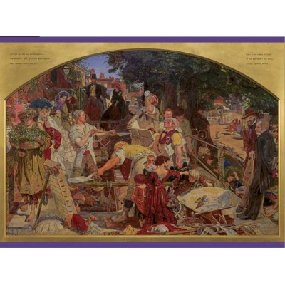 Puzzle Pomegranate-AA657 Ford Madox Brown: Work