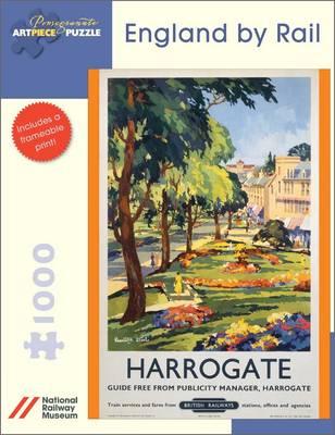 Puzzle Pomegranate-AA689 Harrogate: England By Rail