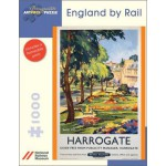 Puzzle  Pomegranate-AA689 Harrogate: England By Rail