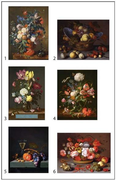 Pomegranate-PB008 Dutch Still Lifes Block Puzzle