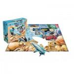HCM-Kinzel-29123 WWF - Bodenpuzzle Tiefsee