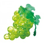 HCM-Kinzel-59117 Puzzle 3D - 46 Teile - Grüne Weintrauben