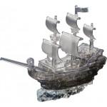 HCM-Kinzel-59129 3D-Puzzle aus Plexiglas - Piratenschiff