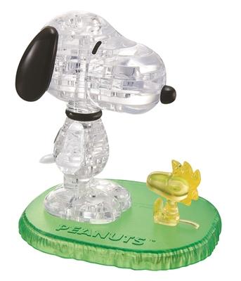 HCM-Kinzel-59132 3D-Puzzle aus Plexiglas - Snoopy Woodstock