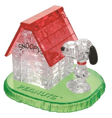 HCM-Kinzel-59133 3D-Puzzle aus Plexiglas -Das Haus von Snoopy