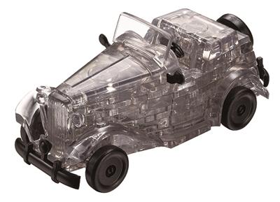 HCM-Kinzel-59134 3D-Puzzle aus Plexiglas - Schwarze Oldtimer